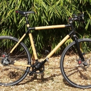 Bamboo Bike Made With Peerless Bamboo Poles