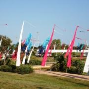 Peerless Bamboo Flag Poles & Bali Flags