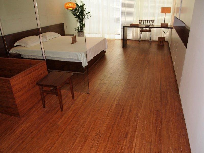 Moso bamboo flooring