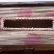 Bamboo Woven Tissus Box