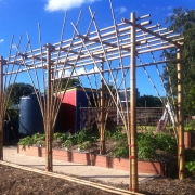 Bamboo arbour