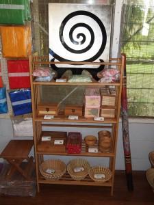 Bamboo Bookshelves