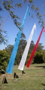 Bali-flags