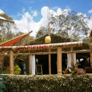 Bamboo Structures Woodford Folk Festival