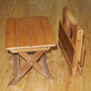 Bamboo Foldable Seats