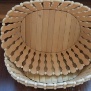 Bamboo Oval Shaped Fruit Basket