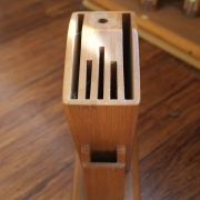 Bamboo Knife Holder