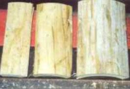Bamboo slabs